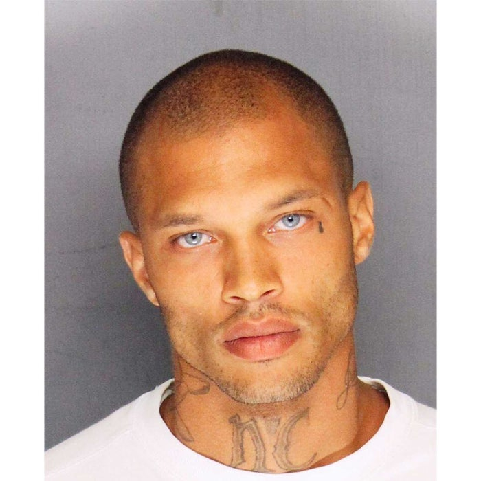 """Meeks is unique on the list in that he is a convicted felon who became famous because of his mugshot. He was arrested in 2014 in a gang sweep called Operation Ceasefire in Stockton California on felony weapons charges and grand theft. When the Stockton Police posted his mugshot on their facebook page, the mugshot went viral. Dubbed the """"Hot Felon"""", his mugshot racked up over 98,000 likes and he has over 1.7 million Instagram followers. Jeremy was convicted of the charges and while serving his 27 month sentence was recruited for a modeling contract with White Cross Management. He made his runway debut after release in February 2017. He's now an in demand model working with major fashion houses all around the world and is in a relationship with Topshop heiress Chloe Green."""