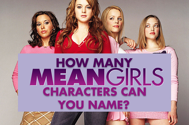 """There Are Over 30 """"Mean Girls"""" Characters, And I'll Be Impressed If You Can Name 12"""