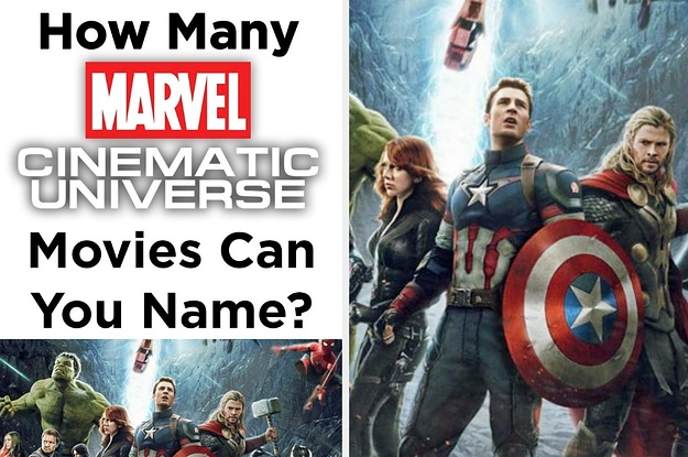 Marvel Cinematic Universe: Can You Name Every Movie?