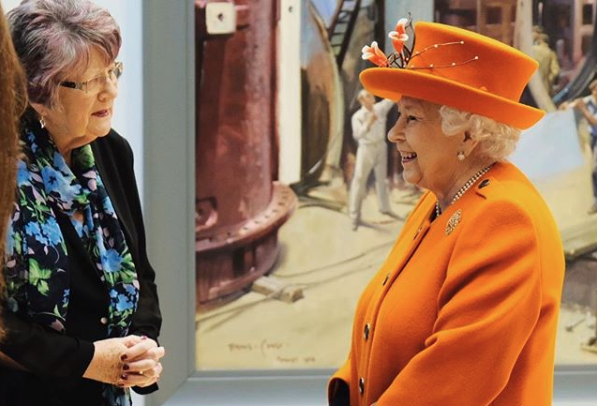 She was opening the museum's summer exhibition, Top Secret, which marks the centenary of intelligence and security agency GCHQ, and a new space for supporters.