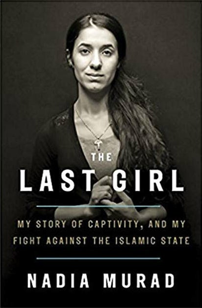 Nada Murad is a Yazidi woman and a survivor of the ISIS genocide in Iraq. She won the Nobel Peace Prize in 2018 for her efforts to end the use of sexual violence as a weapon of war and armed conflict. In her memoir, The Last Girl: My Story of Captivity, and My Fight Against the Islamic State, Murad recounts her childhood, the history of the Yazidi people, the political strife in Iraq which always seemed too far from home until it wasn't — and the absolute horror of ISIS slave camps. The Last Girl is a warning of the ways in which war robs women of agency. Not just through hunger, poverty, brutal physical and sexual violence, but also by taking away women's right to tell their own stories: In the book, as Murad finally escapes, she is made to recount the ordeal of her enslavement and escape by Kurdish officials on camera. Her story, which is used to score political points between rival Kurdish factions, only endangers her and those closest to her.