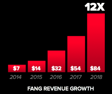FANG Revenue Growth (in millions)