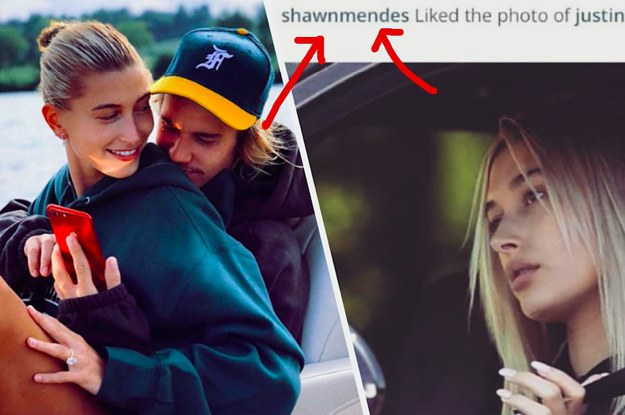 Justin Bieber Shut Down The Drama After Shawn Mendes Liked His Photo Of Hailey Bieber