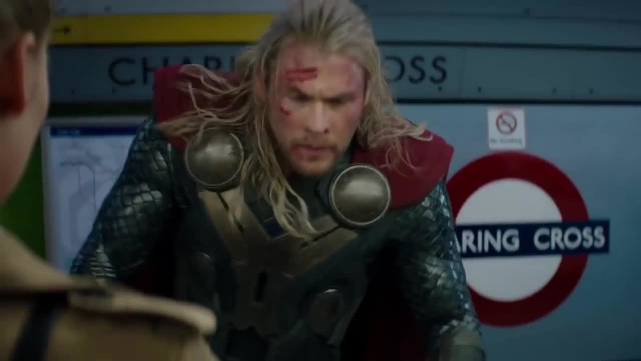In Thor: The Dark World, there is a scene where the hero boards the London Underground at Charing Cross and asks a fellow passenger how to get to Greenwich. She says that all he needs to do is take the train three stops. However, there are two different lines that go through Charing Cross. If he was on the Bakerloo line and took the train three stops, he'd end up at Regent's Park or Lambeth North depending on which way he'd take it. If he was taking the other line, the Northern line, he'd end up at Kennington or Goodge Street. None of these stops are close to Greenwich.