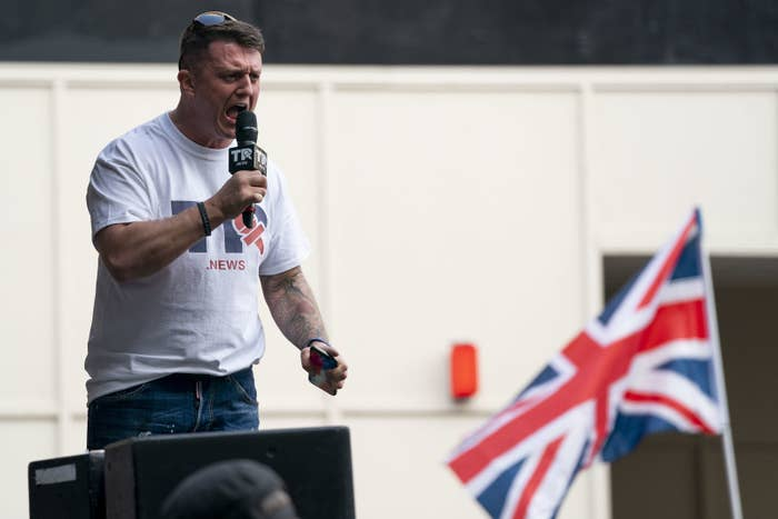 f6ab27860cb YouTube Is Placing Sweeping New Restrictions On Tommy Robinson s Channel —  But It s Not Banning Him