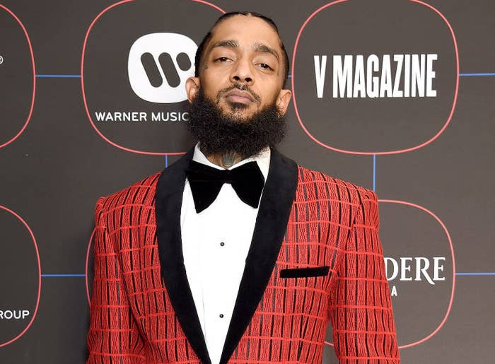 Nipsey Hussle: Celebrities Mourn The Rapper's Death
