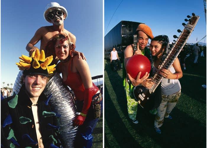 Coachella on April 28, 2001.