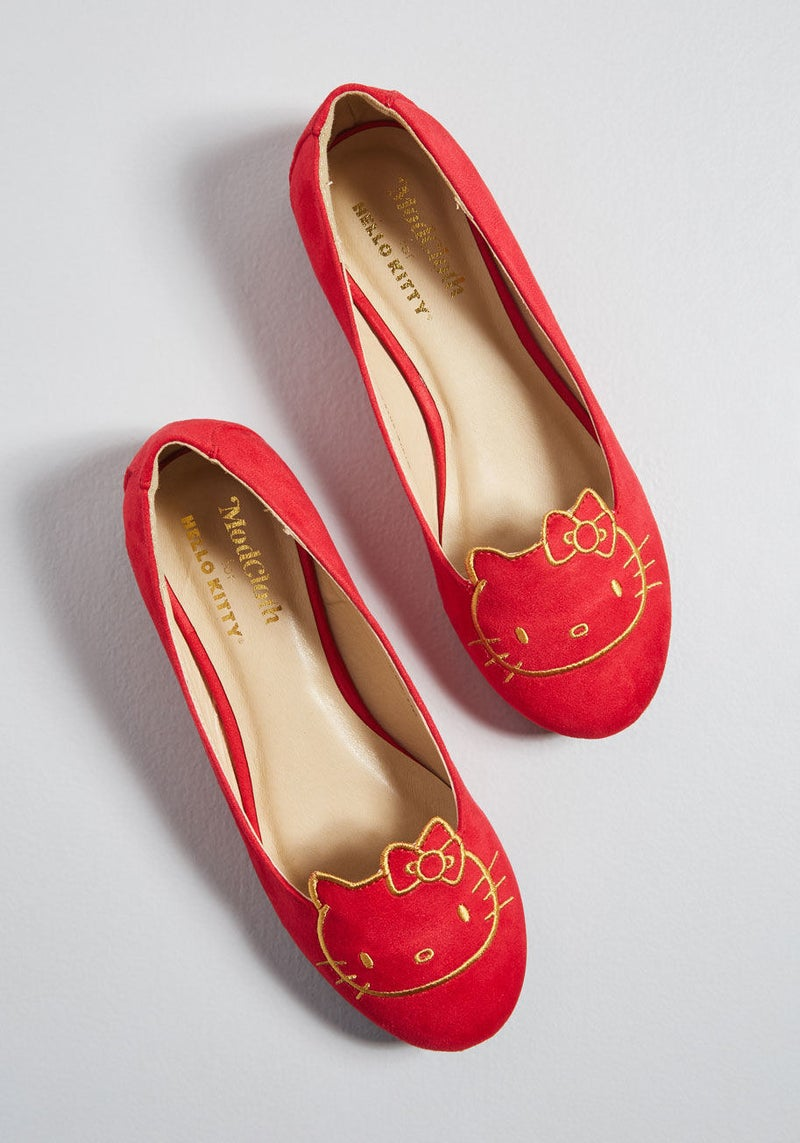 Get them from ModCloth for $49 (available in sizes 5-11).