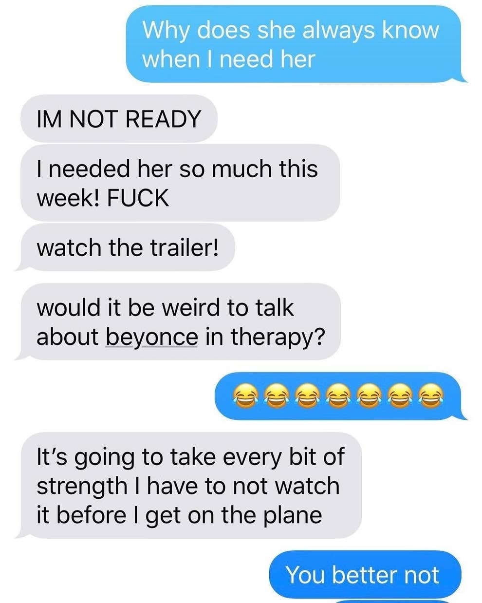 Adele Reacted To Beyoncé's Netflix Special Via Text And It's