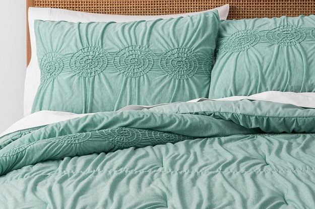29 Ridiculously Comfy Comforters For Anyone Who Hates Leaving Their Bed