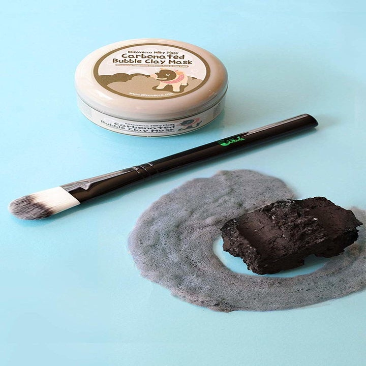 The bubbling face mask
