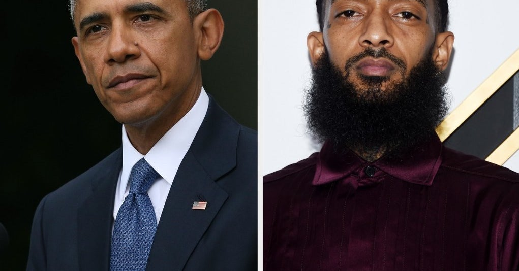 Barack Obama Wrote A Touching Tribute For Nipsey Hussle's Memorial Service