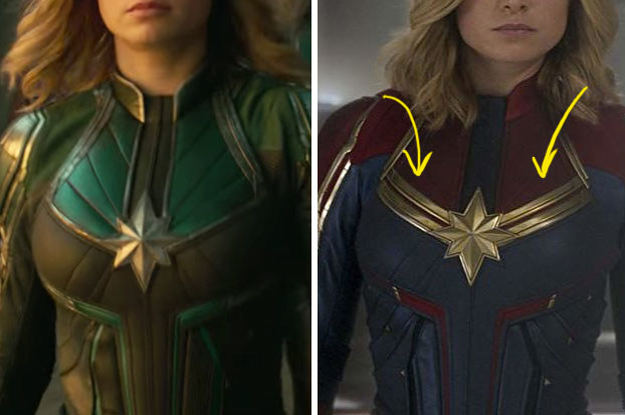 """21 Secrets About The """"Captain Marvel"""" Costumes You Won't Hear Anywhere Else"""