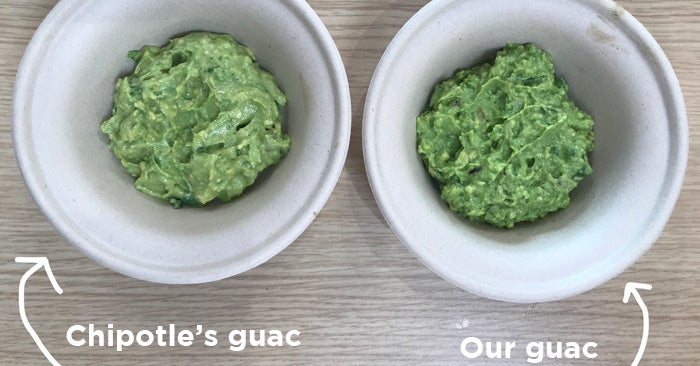 We Tried Making Chipotle's Guacamole Recipe To See If Anyone Could Tell The Difference