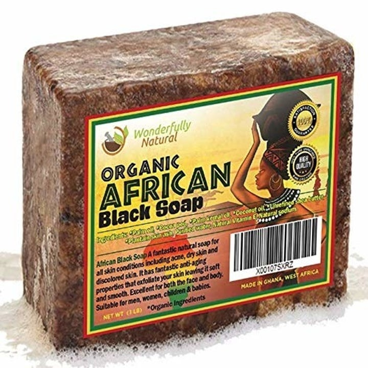 A bar of African Black Soap.
