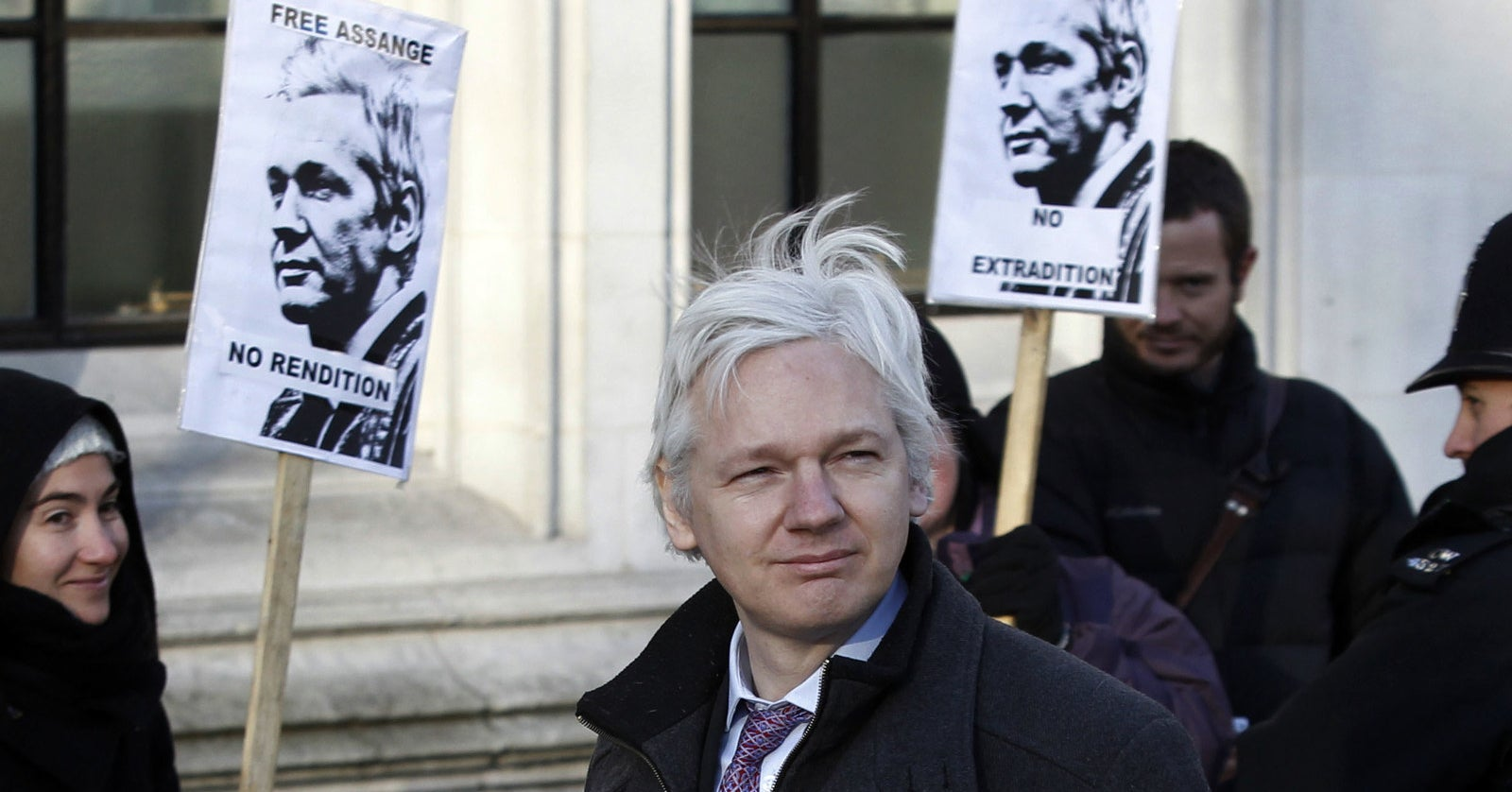 It Could Be Years Before Julian Assange Steps Foot In The United States