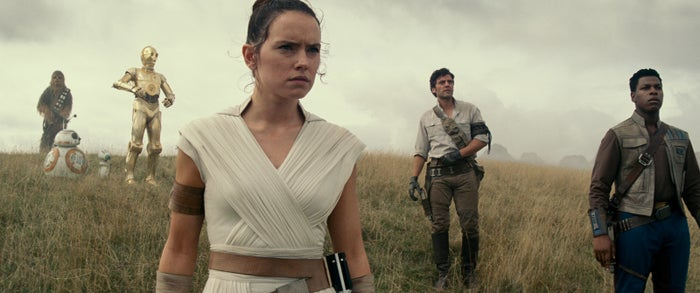 "While The Last Jedi saw Rey (Daisy Ridley), Finn (John Boyega), and Poe (Oscar Isaac) separated for most of the film, they did all end up together at the end, and Abrams noted that the group would be on-screen together for most of this film. ""This is an adventure that the group goes on TOGETHER,"" Abrams said. ""One of the best parts of working on this movie is the dynamic between the characters, and that's the thing I'm the most excited for everyone to see."""