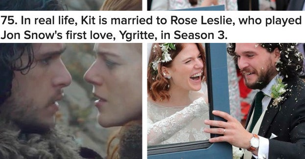 """101 Behind-The-Scenes Facts And Small Details You Didn't Know About """"Game Of Thrones"""""""