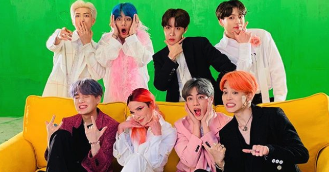 Bts Released Map Of The Soul Persona Featuring Halsey And Ed