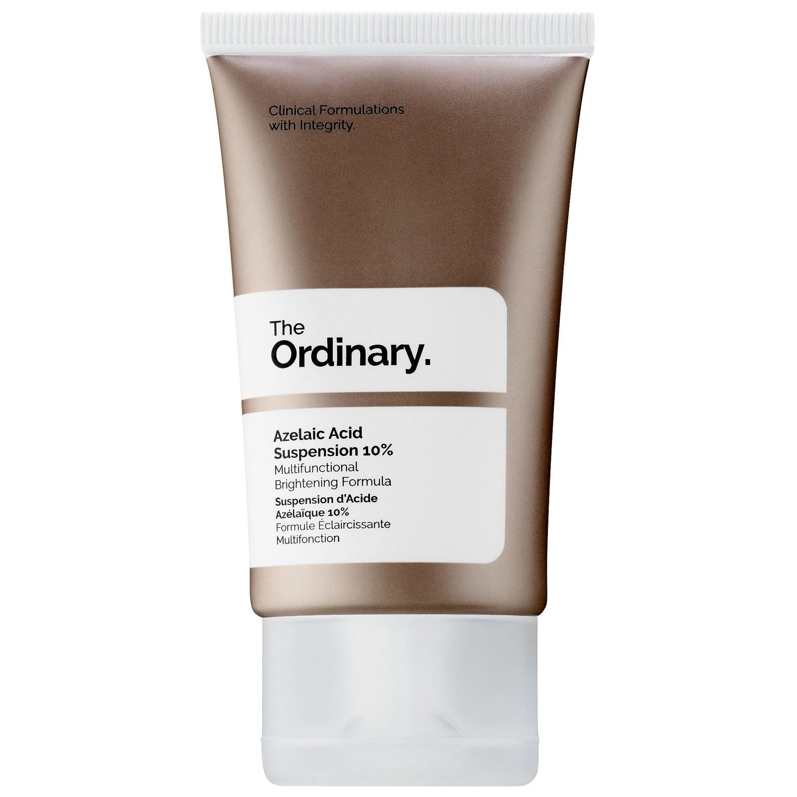 The bottle ofThe Ordinary's Azelaic Acid Suspension 10%