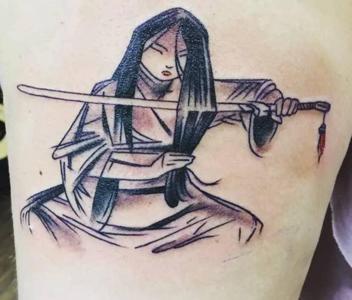 Like this stellar Mulan concept art!