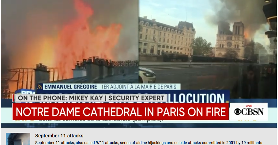 YouTube's New Fact-Check Tool Flagged Notre Dame Fire ...
