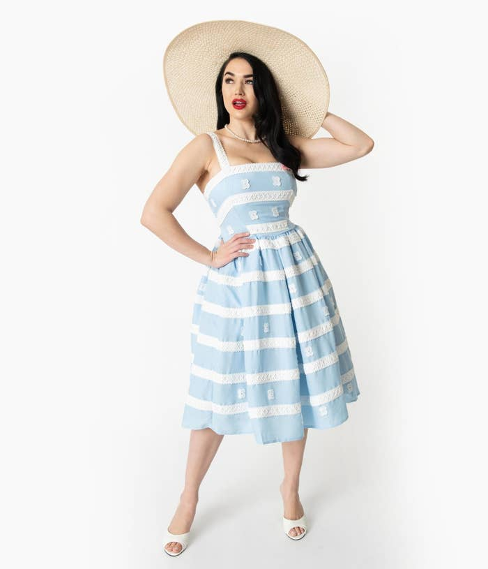 6f276e3e 5. A Barbie sundress worthy of planning a dedicated photoshoot with you and  your fave doll.