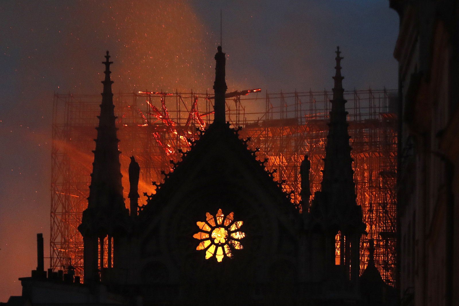 Notre Dame Cathedral Damaged In Massive Fire