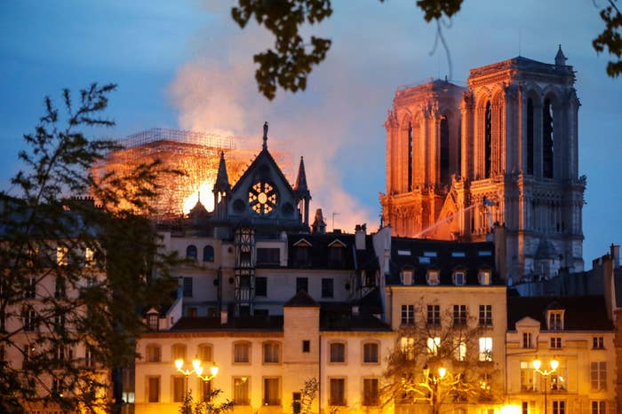 Notre Dame Fire Hoaxes Are Already Spreading On Social Media