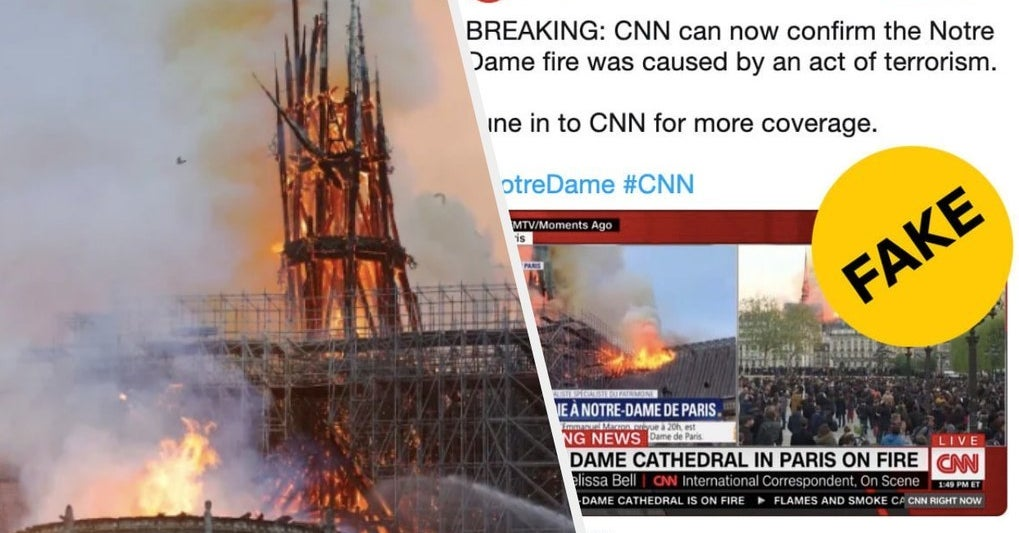 003cb367571d Notre Dame Fire Hoaxes Are Already Spreading On Social Media