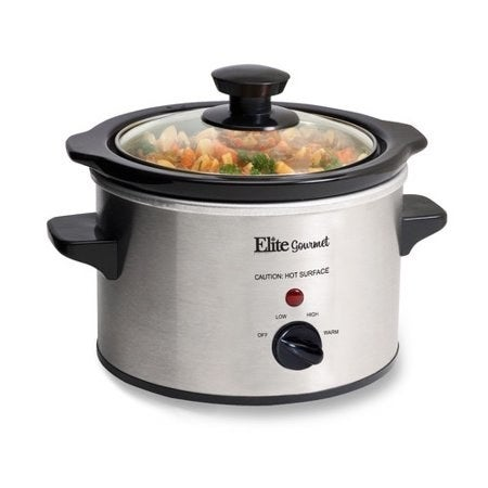"""Promising Review: """"Love my little slow cooker. This makes convenient individual servings. Heats nicely, without worrying about your meal burning. Great for office meals! Thanks Walmart!"""" —tmcarrPrice: $15.99"""