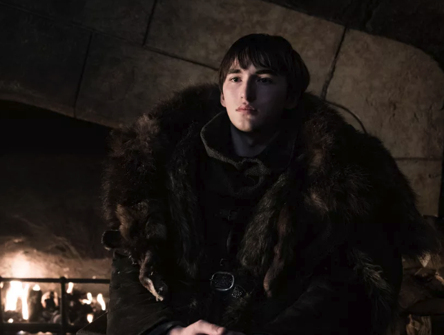 In fact he's been pretty damn robotic. He seems to have forgotten how to be a person. Like in the Season 8 premiere, when Jon and Dany were talking to Sansa after arriving at Winterfell, and Bran interrupted their conversation to start screaming about the Night King. Or when he then just sat around for the whole episode staring at people – secretly waiting for Jaime Lannister (you know, the guy who pushed him out of a window in Season 1) to show up. And then when Jaime did show up, Bran just...stared at him??? Bran's bizarre behaviour is distressing, if you care about his character, but it's also low-key hilarious. Here are some of the best Bran memes from the Game of Thrones Season 8 premiere...