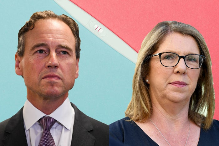 Health minister Greg Hunt and shadow health minister Catherine King.