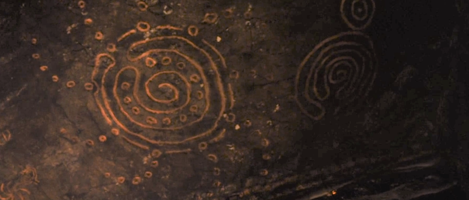 Could the symbols each represent something (like, say, ice and fire), and the combination of them indicates how the White Walkers might be defeated (like maybe by bringing ice and fire together)?!