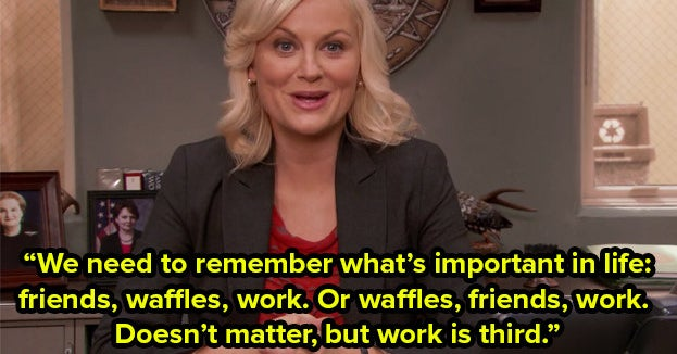 """Tell Us Your Fave Takeaway From """"Parks And Rec"""""""