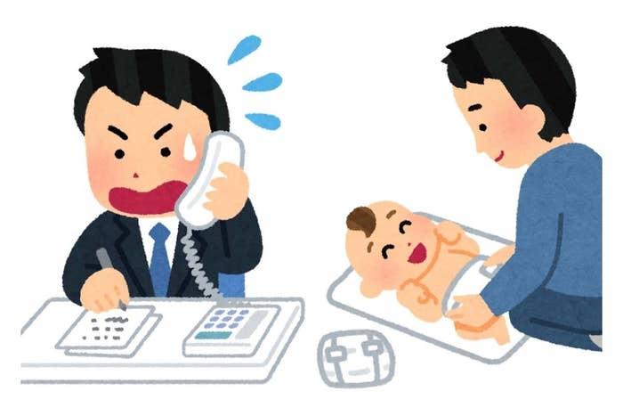 こどもたち パパで遊んで ママで寝る (だんな・31歳・男性/神奈川県)テレワーク 親子で参加 web会議 (さすけ・40歳・男性/東京都)