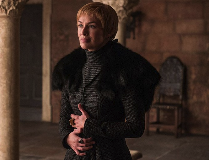 A lot of people think it was her way of manipulating Tyrion and Jaime to do her bidding.