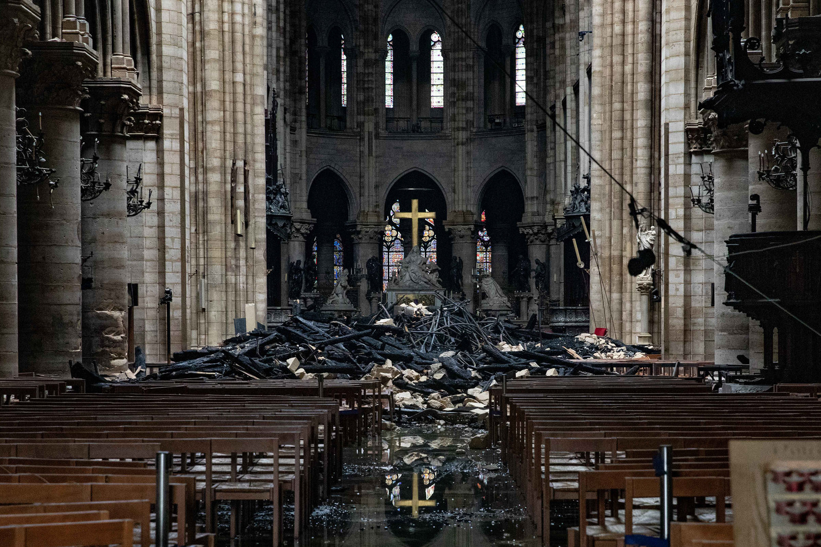 How Father Jean-Marc Fournier And The Fire Brigade Saved Holy Relics During Notre Dame Fire