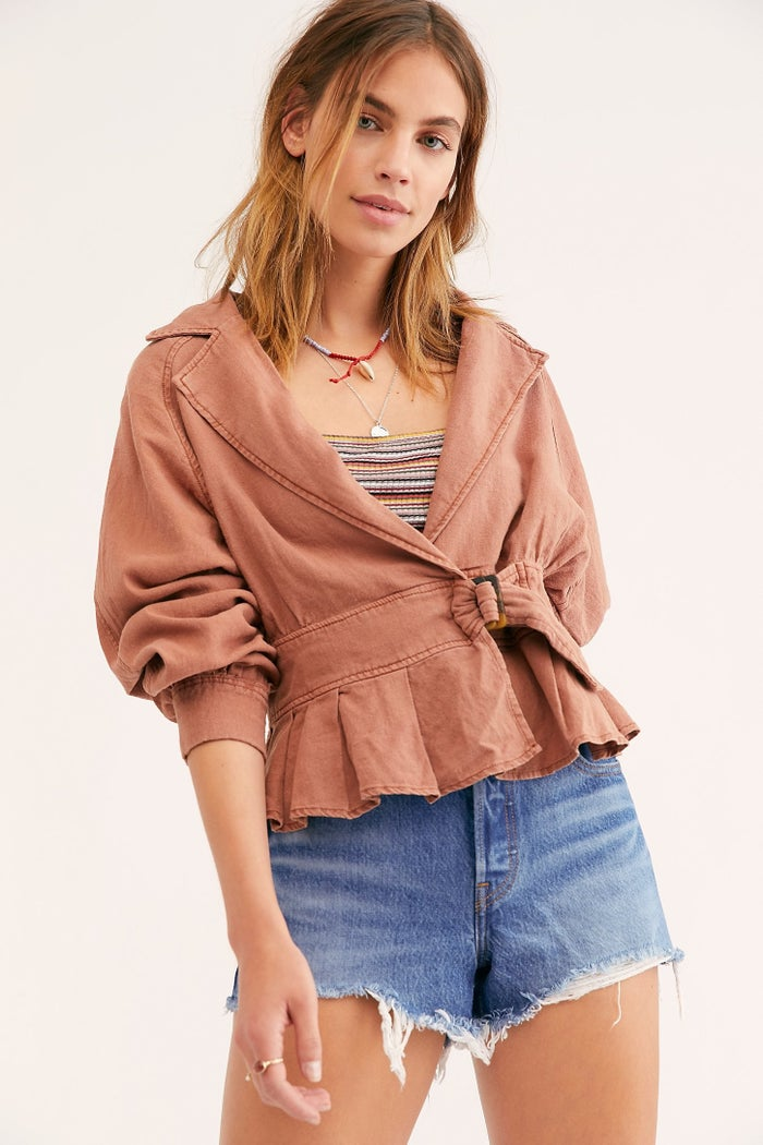 Get it from Free People for $128 (available in sizes XS–L and in two colors).