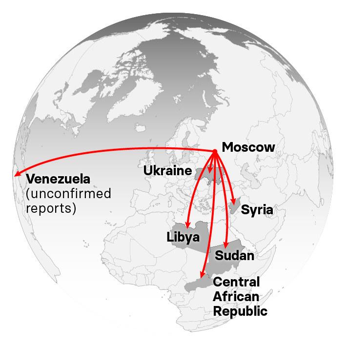 Inside The Shadow War Fought By Russian Mercenaries