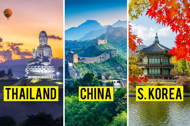 There Are 51 Countries In Asia, And I'll Be Impressed If You Can Name Just 15