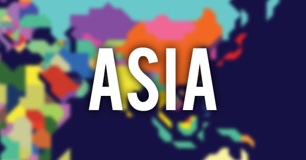 There Are 51 Asian Countries, But Can You Name Even 15?