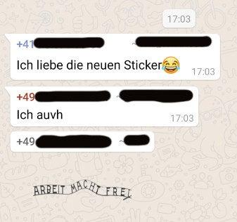 Text whatsapp liebes Die 80