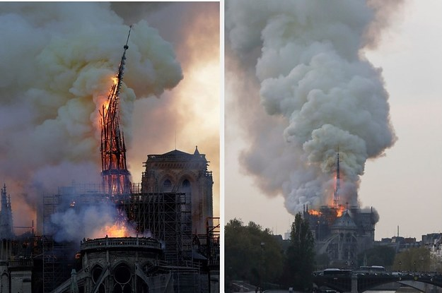 A Massive Fire At The Notre Dame Cathedral In Paris Caused Catastrophic Damage