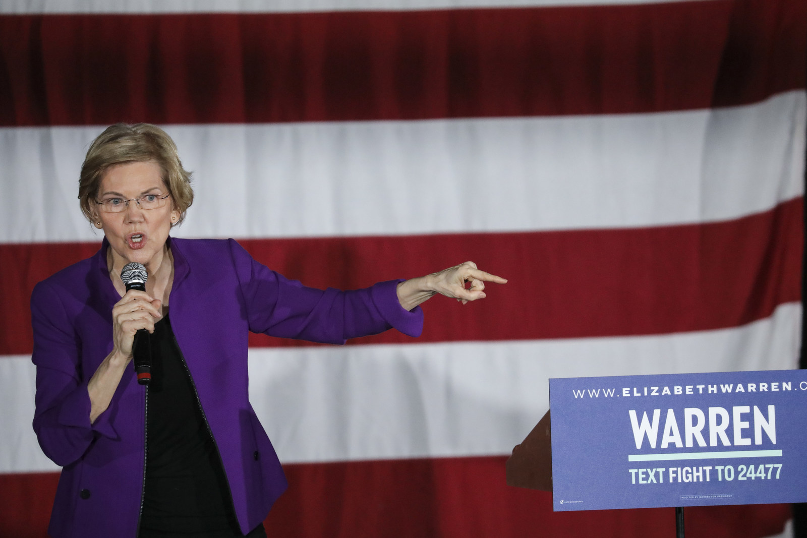Elizabeth Warren Has The Biggest 2020 Presidential Campaign — And It's Only Growing