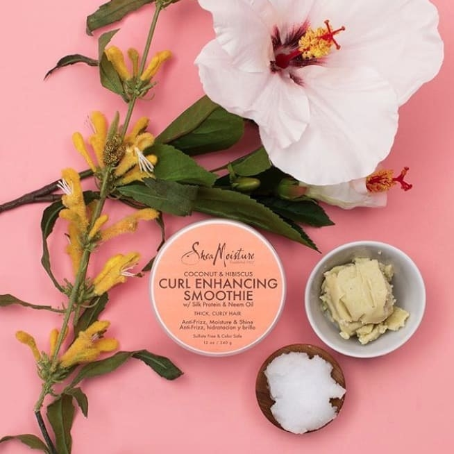 Shea Moisture's Curl Enhancing Smoothie cream
