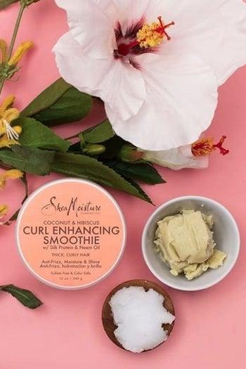 Shea Moisture's coconut and hibiscus smoothie cream