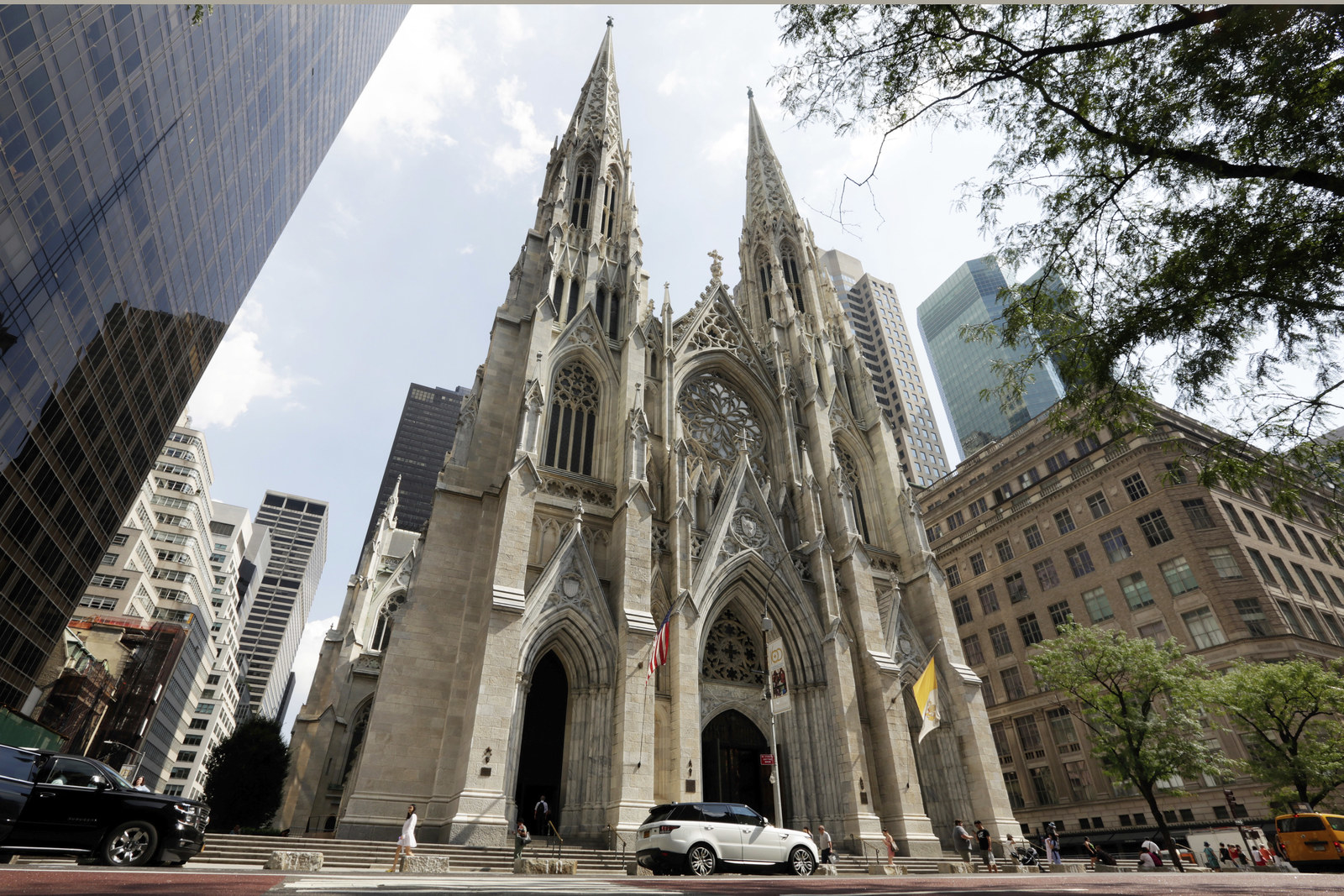 The Man Arrested With Gas Cans And Lighters At St. Patrick Cathedral Has Been Identified