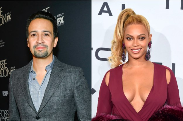 Lin-Manuel Miranda And Vanessa Nadal Gushing Over Beyoncé Is The Cutest Thing You'll See All Day