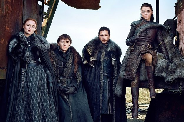 """We Know How Dead You Are Inside Based On Your Choice Of Popular """"Game Of Thrones"""" Characters"""